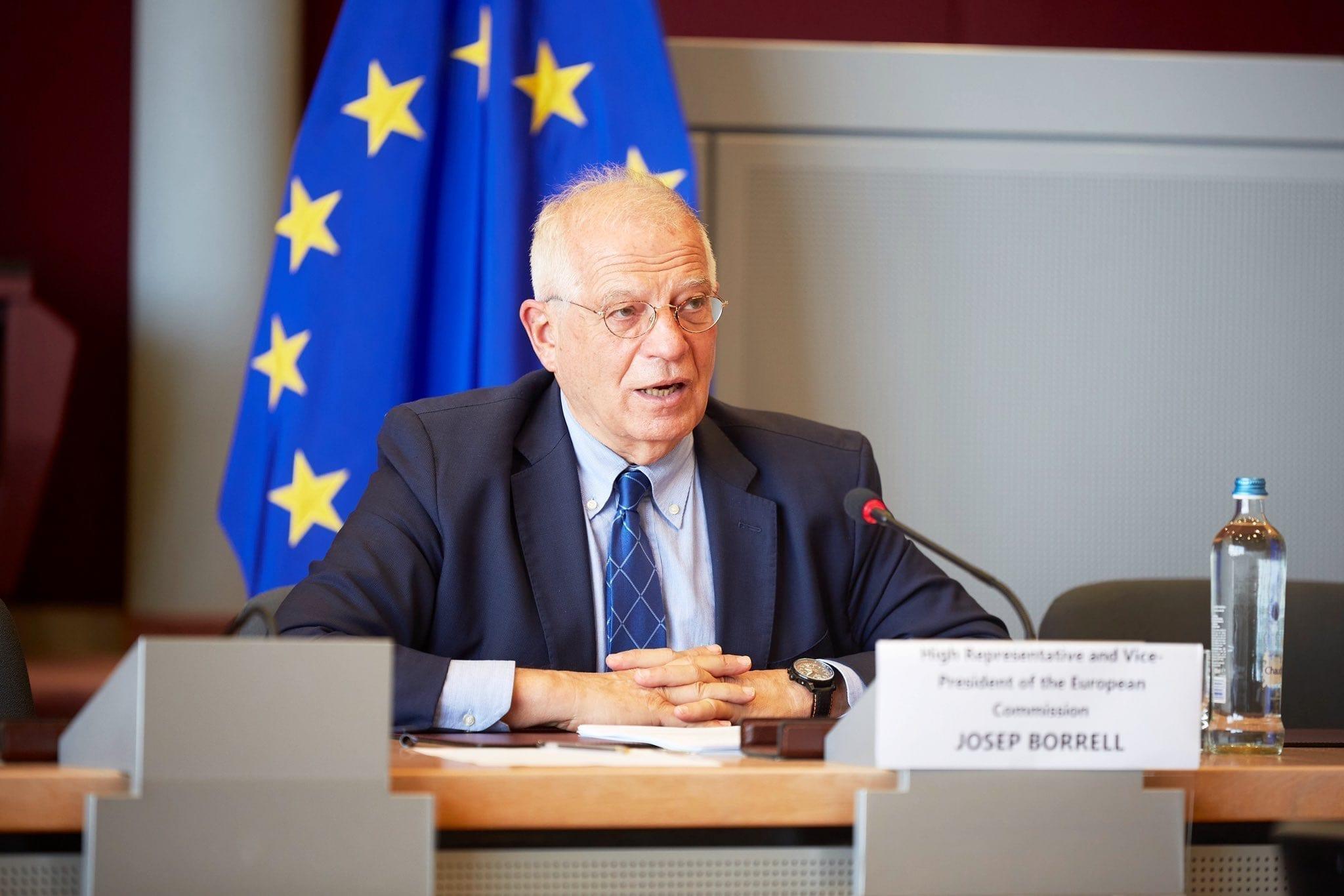 joseph borrell Unión Europea