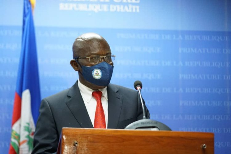 Joseph Jouthe, primer ministro de Haití