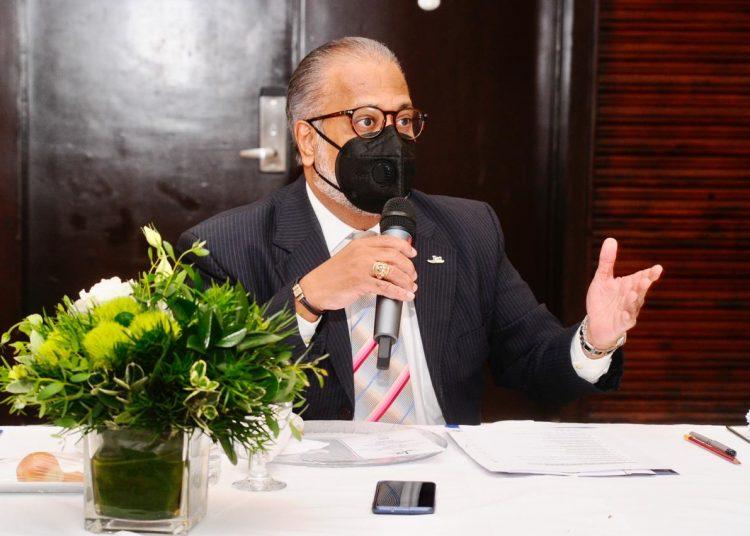 El presidente de la Junta de Aviación Civil (JAC), doctor José E. Marte Piantini.