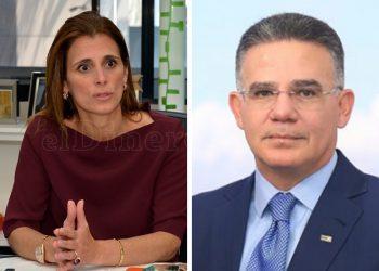 Ligia Bonetti y Pedro Brache.