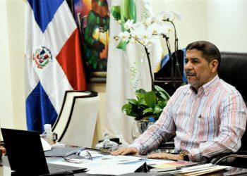 El ministro de Agricultura, Limber Cruz.