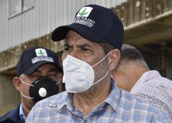 El ministro de Agricultura, Limbert Cruz.