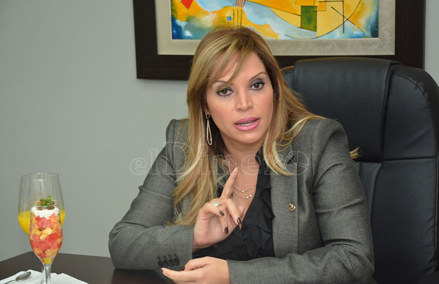 Linda Valette, presidente ejecutiva del Banco Múltiple Banesco. | Lésther Álvarez