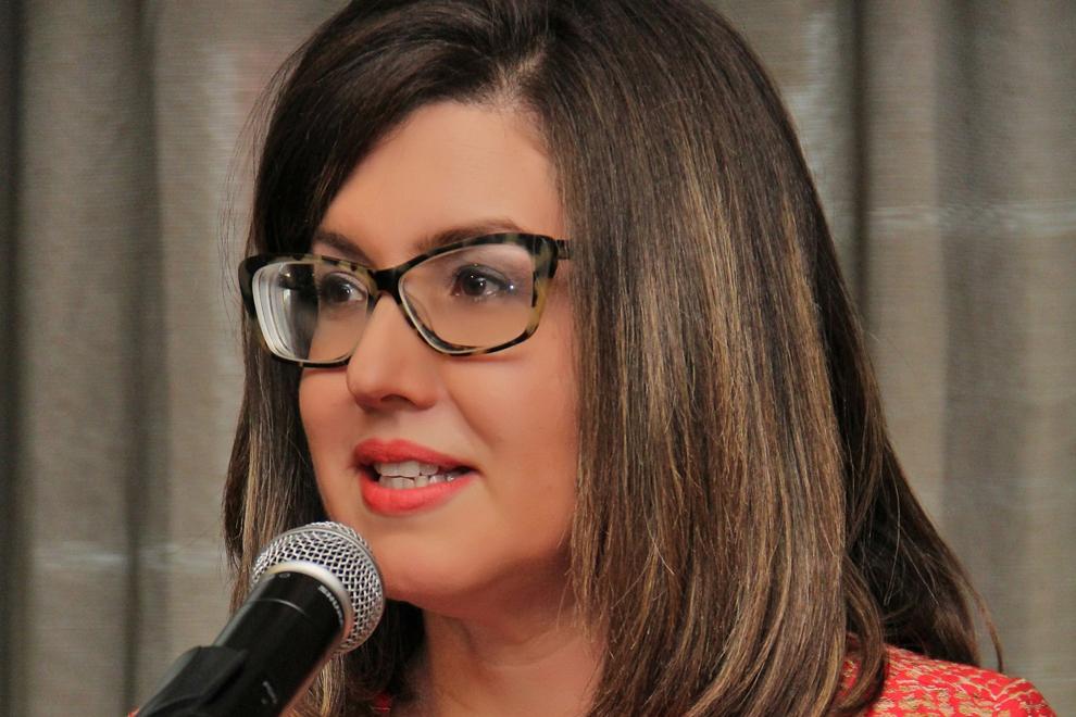 lucile houellemont, presidenta de adesinc