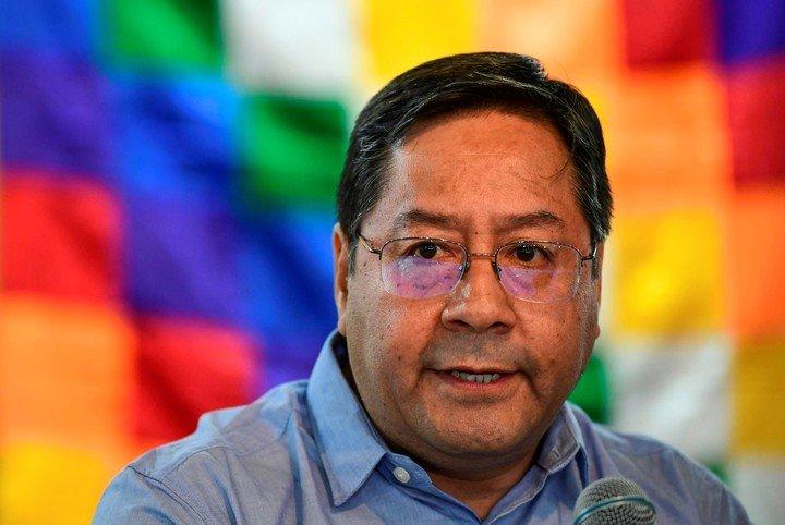 Luis Arce, presidente electo de Bolivia