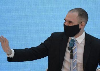El ministro de Economía de Argentina, Martín Guzmán. | Juan Mabromata, EFE.