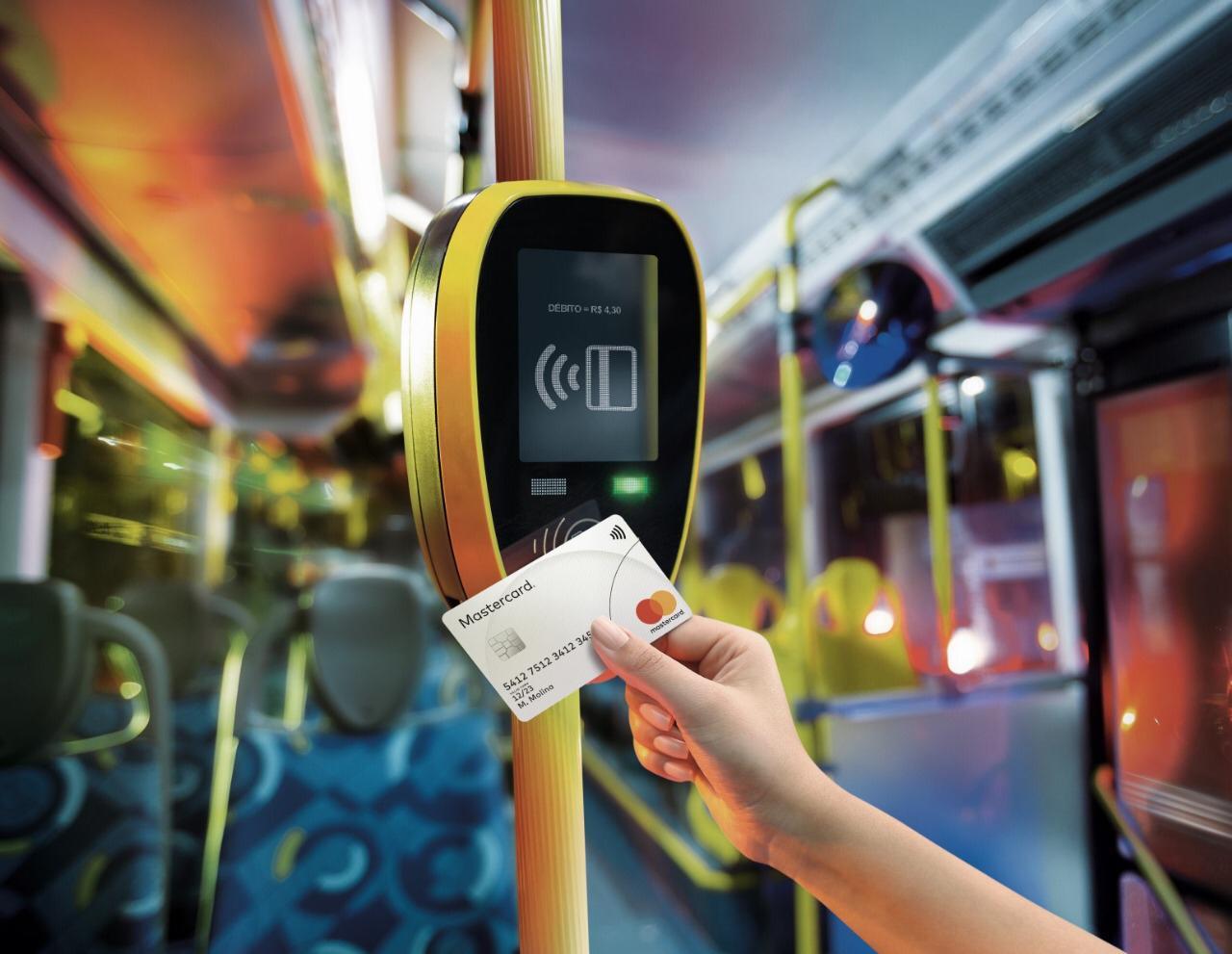 mastercard pago transporte
