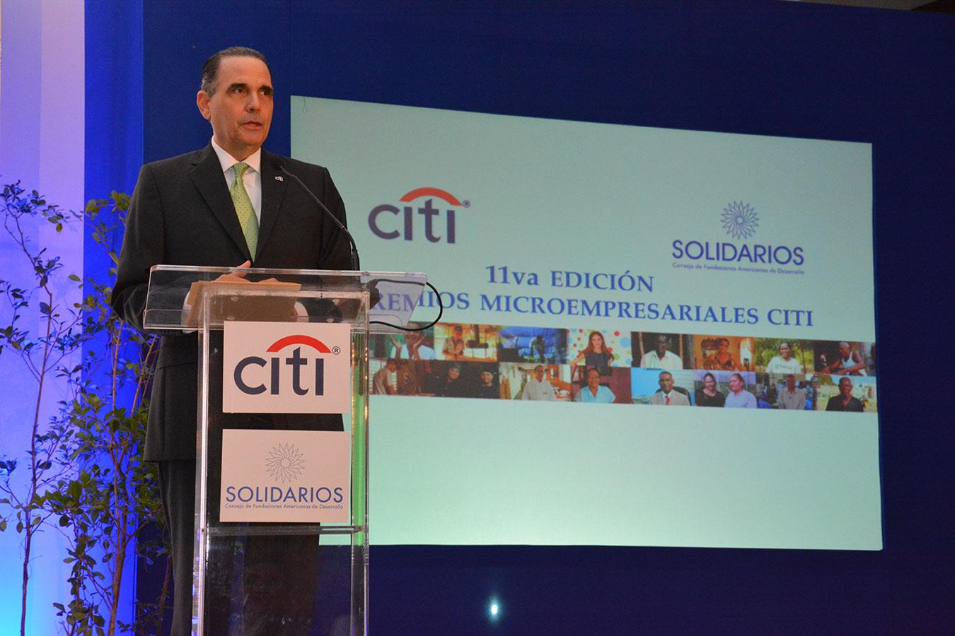 Máximo Vidal es gerente general de Citi República Dominicana desde 2005. Previo a su designación en el país, ocupó igual cargo en Honduras/Nicaragua en el período 2011-2005. | Gabriel Alcántara
