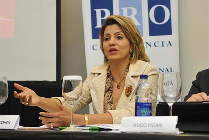 Michelle Cohen, presidente del Consejo de ProCompetencia.