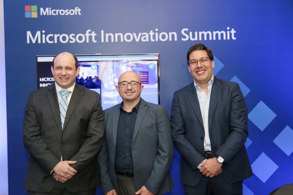 microsoft herbert lewy, roberto icasuriaga y andrés rengifo, expositores principales en el microsoft innovation summit 2019