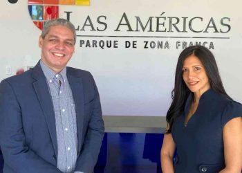 Miguel Estepan  y Claudia Pellerano