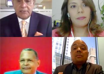 Miguel Franjul, Bethania Ortega, Fausto Rosario y Jairon Severino