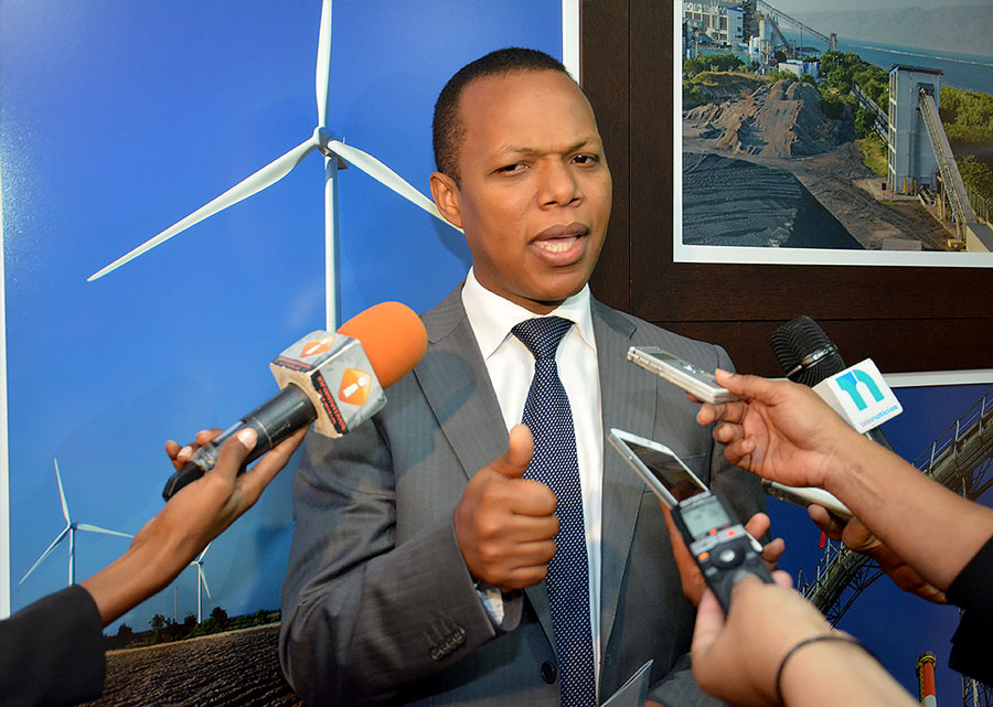 Milton Morrison, vicepresidente de la Asociación Dominicana de la Industria Eléctrica (ADIE). | Gabriel Alcántara
