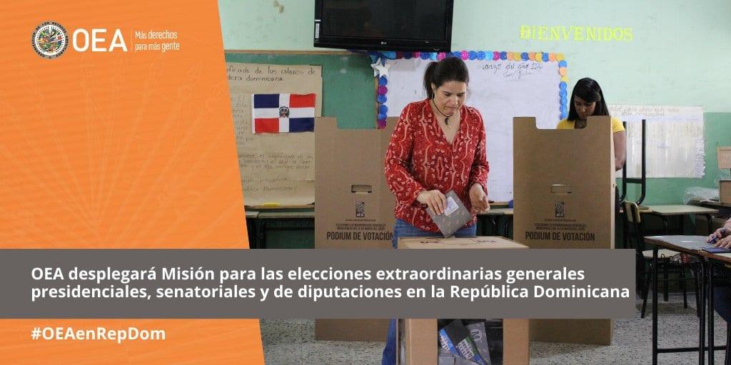 oea elecciones dominicanas
