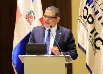 El director general de la Oficina Presidencial de Tecnologías de la Información y Comunicación (Optic), Pedro Quezada.