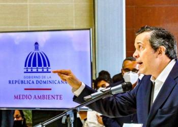 Orlando Jorge Mera, ministro de Medio Ambiente