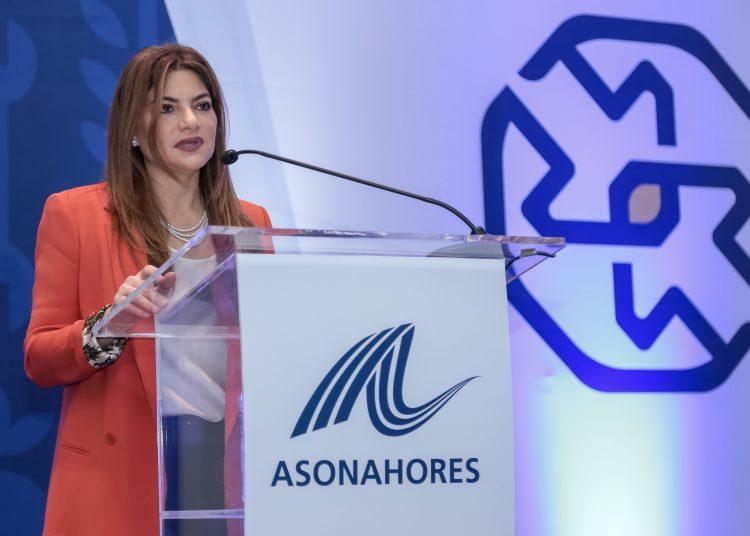 Paola Rainieri de Diaz, presidenta de Asonahores.