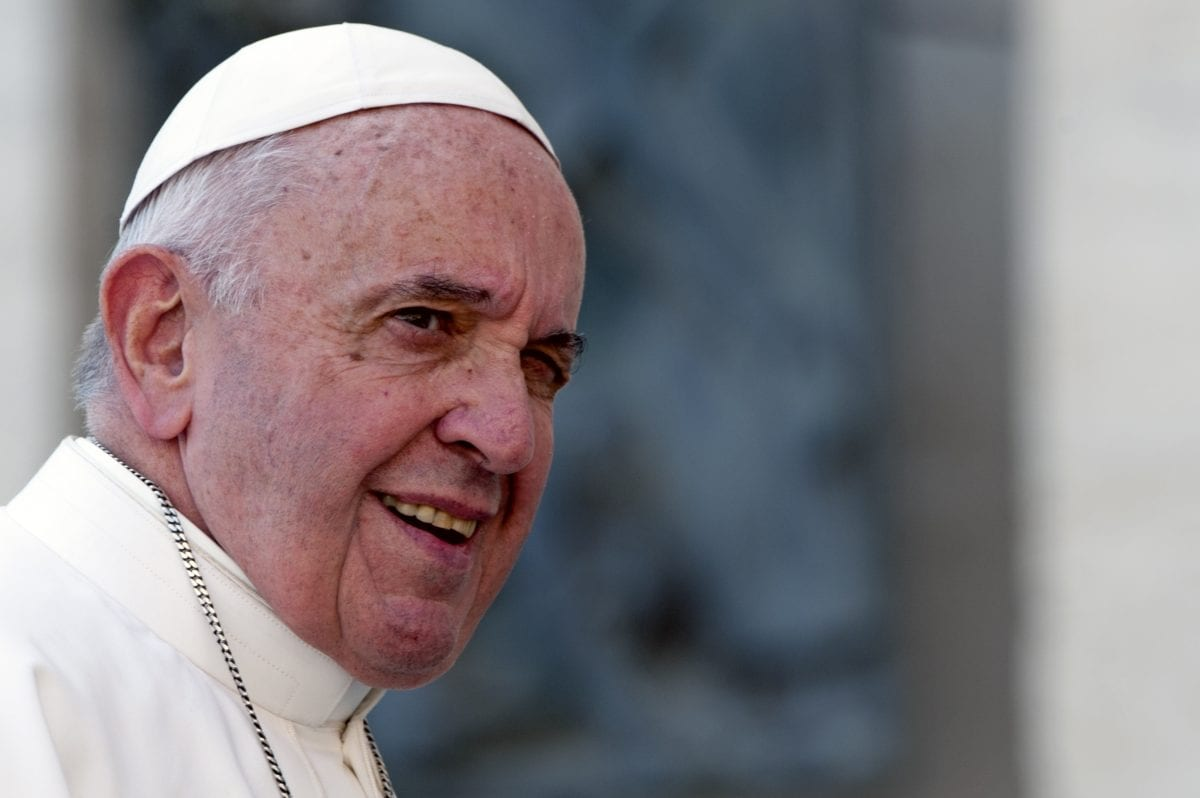 pope leads general audience