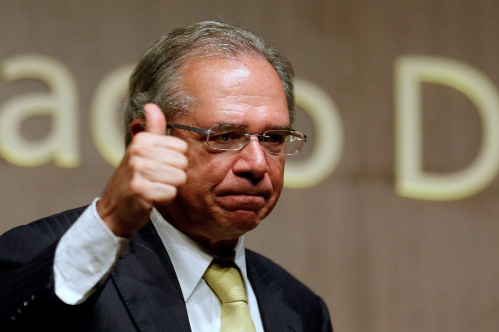 el ministro de economía de brasil, paulo guedes