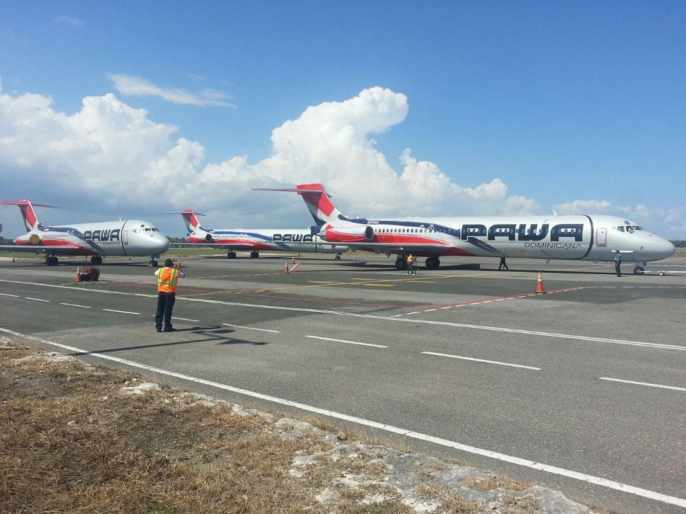 Pawa Dominicana movilizó 116,000 pasajeros en 2016.