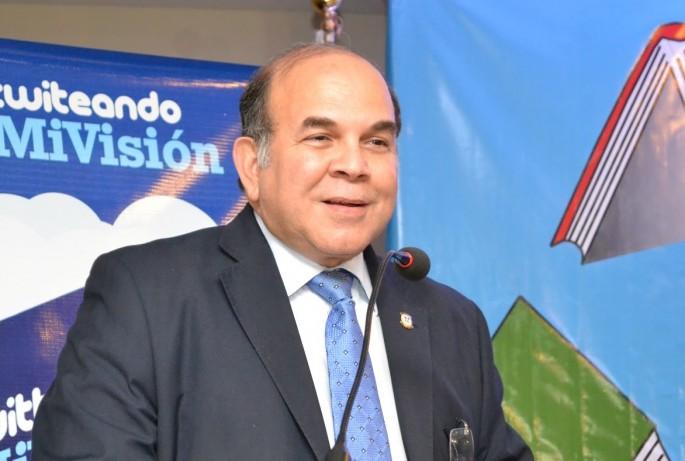 Pelegrín Castillo, ministro de Energía y Minas.