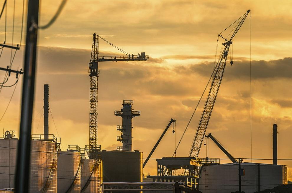 planta procesamiento petróleo
