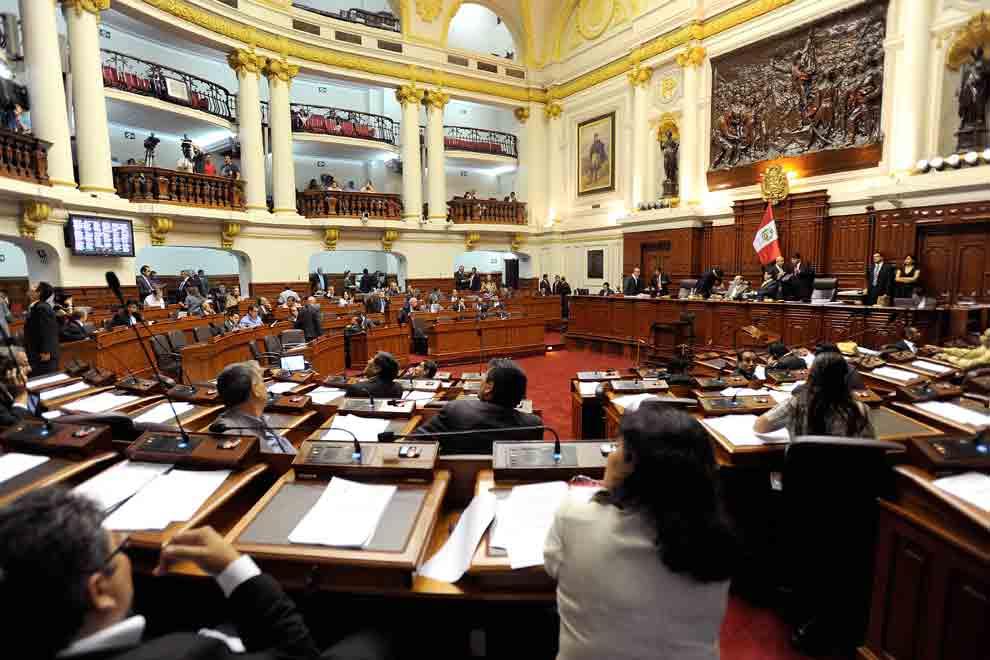 pleno del congreso perú