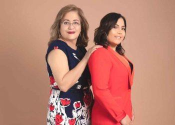 Olga Arbaje y Sheila Ochoa.    Cortesía