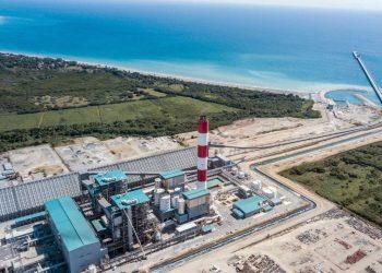 La Central Termoeléctrica Punta Catalina encendió el motor de la conversión a gas natural de las plantas de fuel oil privadas.