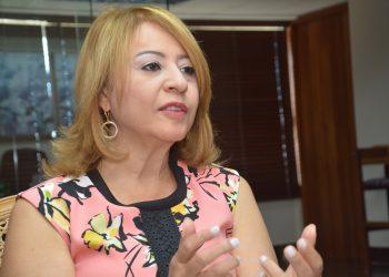 La presidenta ejecutiva de la Asociación de Bancos Comerciales (ABA), Rosanna Ruiz.|  Lésther Alvarez.