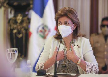La vicepresidenta Raquel Peña. | Fuente externa.