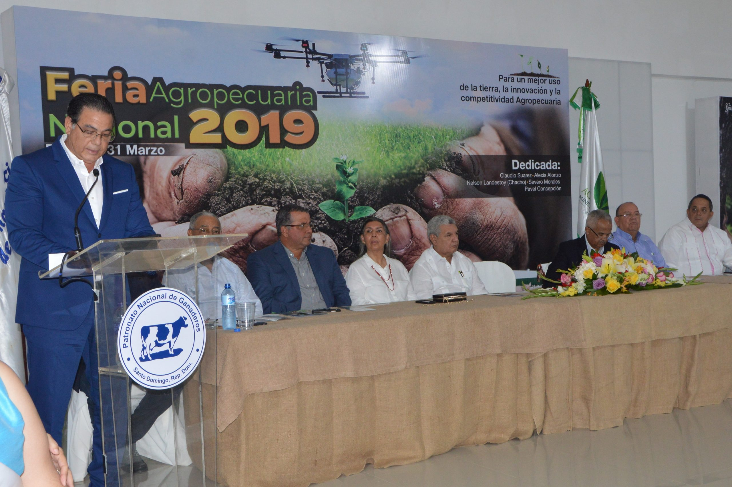 rene columna, presidente del patronato nacional de ganaderos