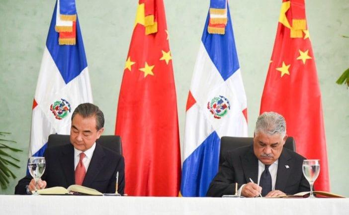 república dominicana y china