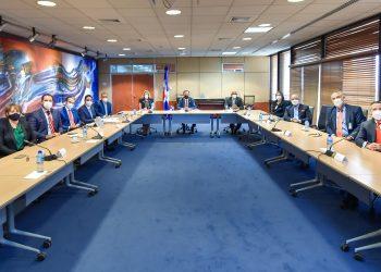 Reunión BCRD, AIRD y SIMV
