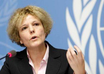 La experta en salarios de la oficina de la Organización Mundial del Trabajo (OIT) Rosalía Vázquez-Álvarez. | Salvatore Di Nolfi, EFE.