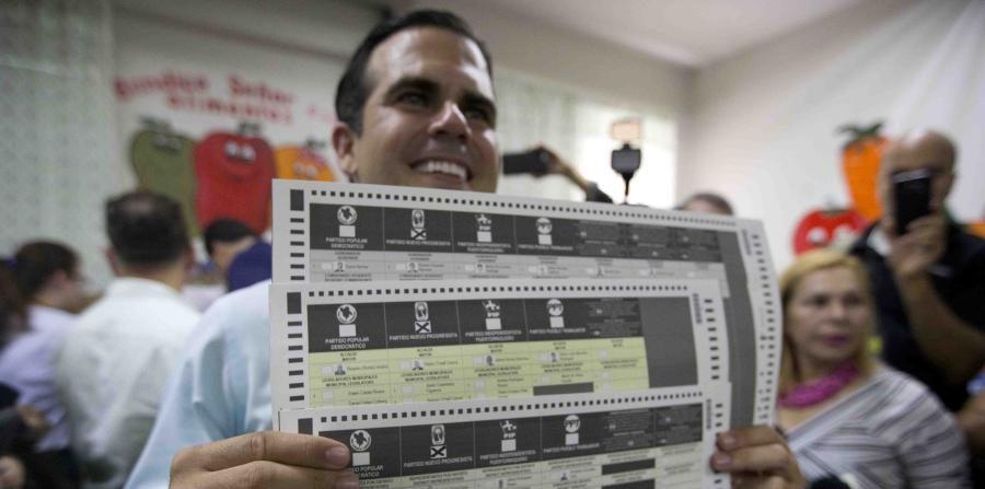 rossello ejerce voto