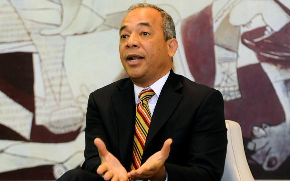 Rubén Bichara, vicepresidente ejecutivo de la CDEEE.