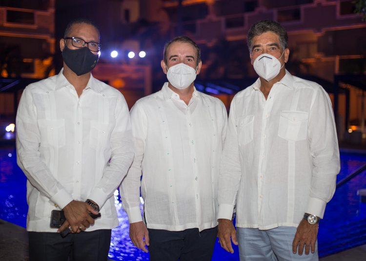 Ruben Caraballo, Jorge Puente y Carlos Medrano