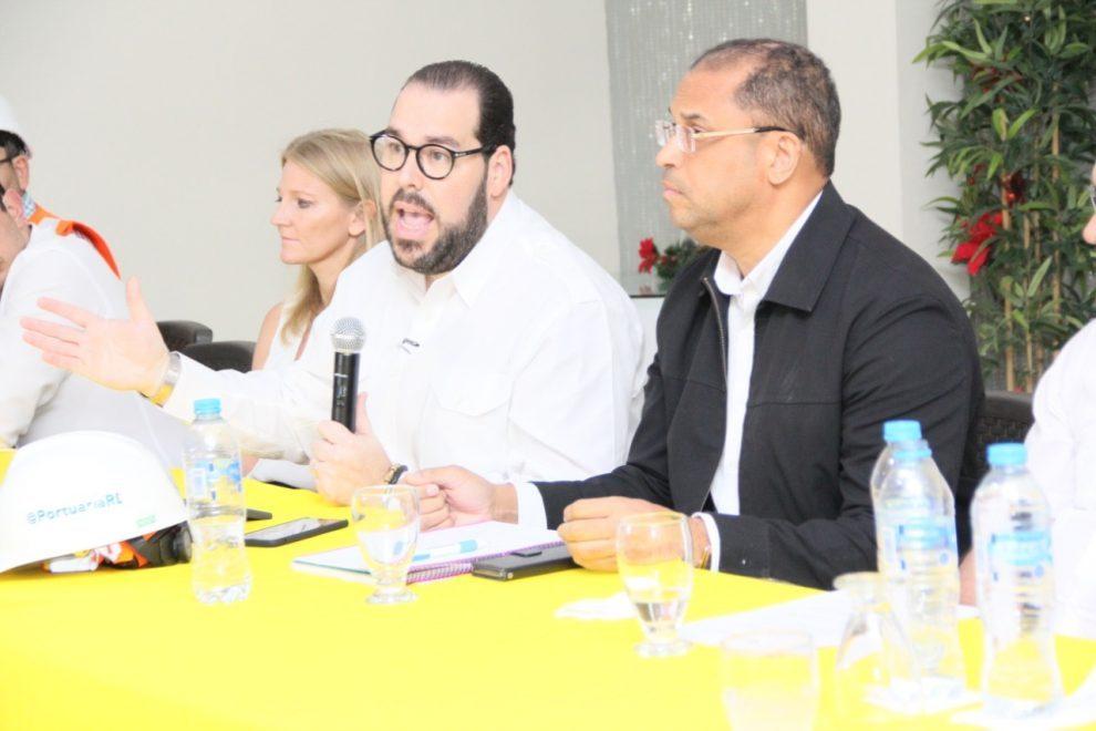rueda de prensa ministerio de turismo, autoridad portuaria y puerto de puerto de puerto plata