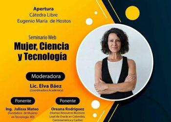 Seminario web Mujer, ciencia y tecnología. Uniremhos