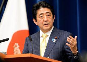 Shinzo Abe, primer ministro de Japón hizo la advertencia ante los líderes de las potenciasx económicas.