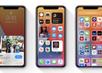 Sistema operativo iOS14, Apple