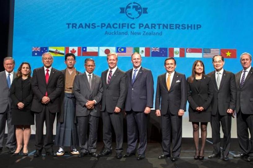 """Las organizaciones sociales aseguran que el TPP se negoció a """"espaldas"""" de la ciudadanía y tiene consecuencias """"perjudiciales"""" para los países firmantes."""