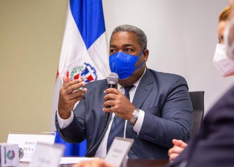 El coordinador del Gabinete de Políticas Sociales del Gobierno, Tony Peña Guaba.