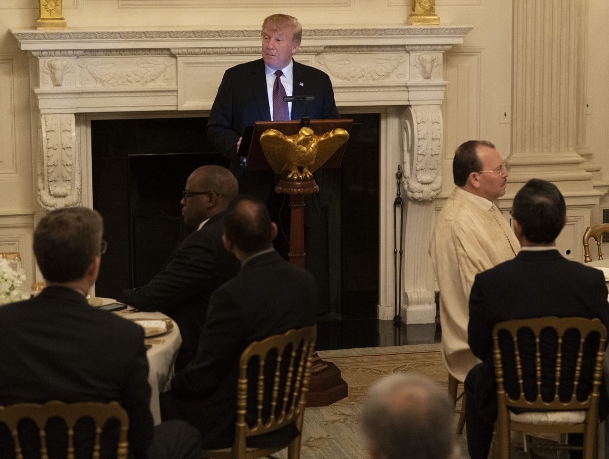 trump celebrates ramadan with white house iftar