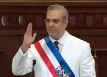 Luis Abinader, presidente de República Dominicana.