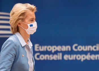 La presidenta de la Comisión Europea (CE), Ursula Von der Leyen. | Fuente externa.