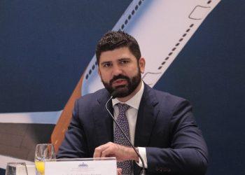 El viceministro de Zonas Francas y Regímenes Especiales del Ministerio de Industria, Comercio y Mipymes (MICM), Carlos Guillermo Flaquer.