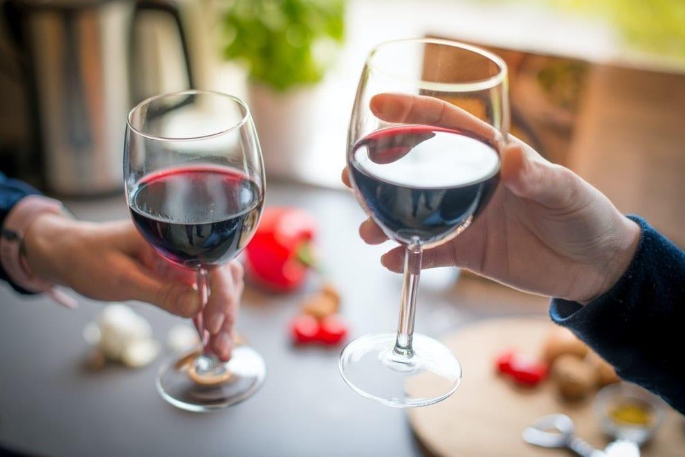 vino consumo de alcohol