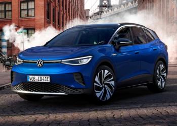Volkswagen ID.4, el nuevo vehículo todoterreno eléctrico de la marca. | Fuente externa.